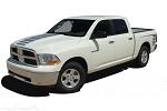 2009-2018 Dodge RAM POWER Wagon Decals Hood Rear Side Truck Bed Vinyl Graphic Stripe Kit