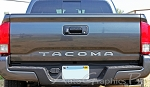 2015-2017 Toyota Tacoma TAILGATE LETTERS Rear Bed Lettering TRD Sport Pro Accent Trim Decal 3M Vinyl Graphics Stripe Kit