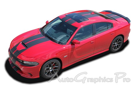 2015 2016 2017 2018 dodge charger vinyl racing stripes n charge rally s pack r t scat pack srt. Black Bedroom Furniture Sets. Home Design Ideas