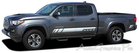 "2015-2018 Toyota Tacoma ""CORE"" Lower Door Rocker Panel Accent Trim Decal 3M Vinyl Graphics Stripe Kit"
