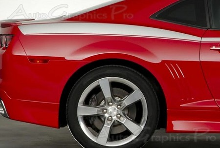 "2010-2013 and 2014-2015 Chevy Camaro ""HERITAGE"" Legacy Style Side Vinyl Graphics Stripes Kit fits All Models"