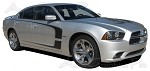 "2011-2014 Dodge Charger ""C-STRIPE"" Mopar Style Vinyl Racing Stripes Kit"
