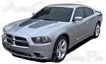 "2011-2014 Dodge Charger ""SPLIT HOOD"" Mopar Style Vinyl Graphics"