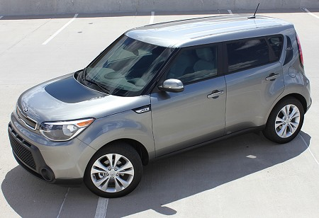 "2014-2018 Kia Soul ""SOUL PATCH"" Factory Style Hood and Side Vinyl Graphics"