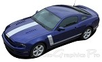 "2013 2014 Ford Mustang ""PRIME 2"" BOSS Style Vinyl Decal Graphics"