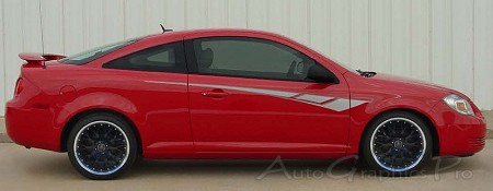 "Chevy Cobalt ""OCTANE"" Universal Fit Vinyl Decal Graphic Stripes"