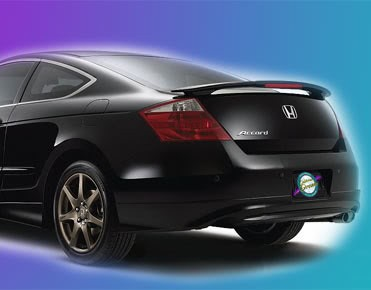 honda accord 2 door painted rear spoiler wing fits 2008 2012 models. Black Bedroom Furniture Sets. Home Design Ideas