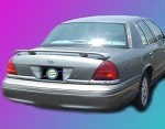 Mercury Grand Marquis : Painted Rear Spoiler Wing fits 2006-2009 Models