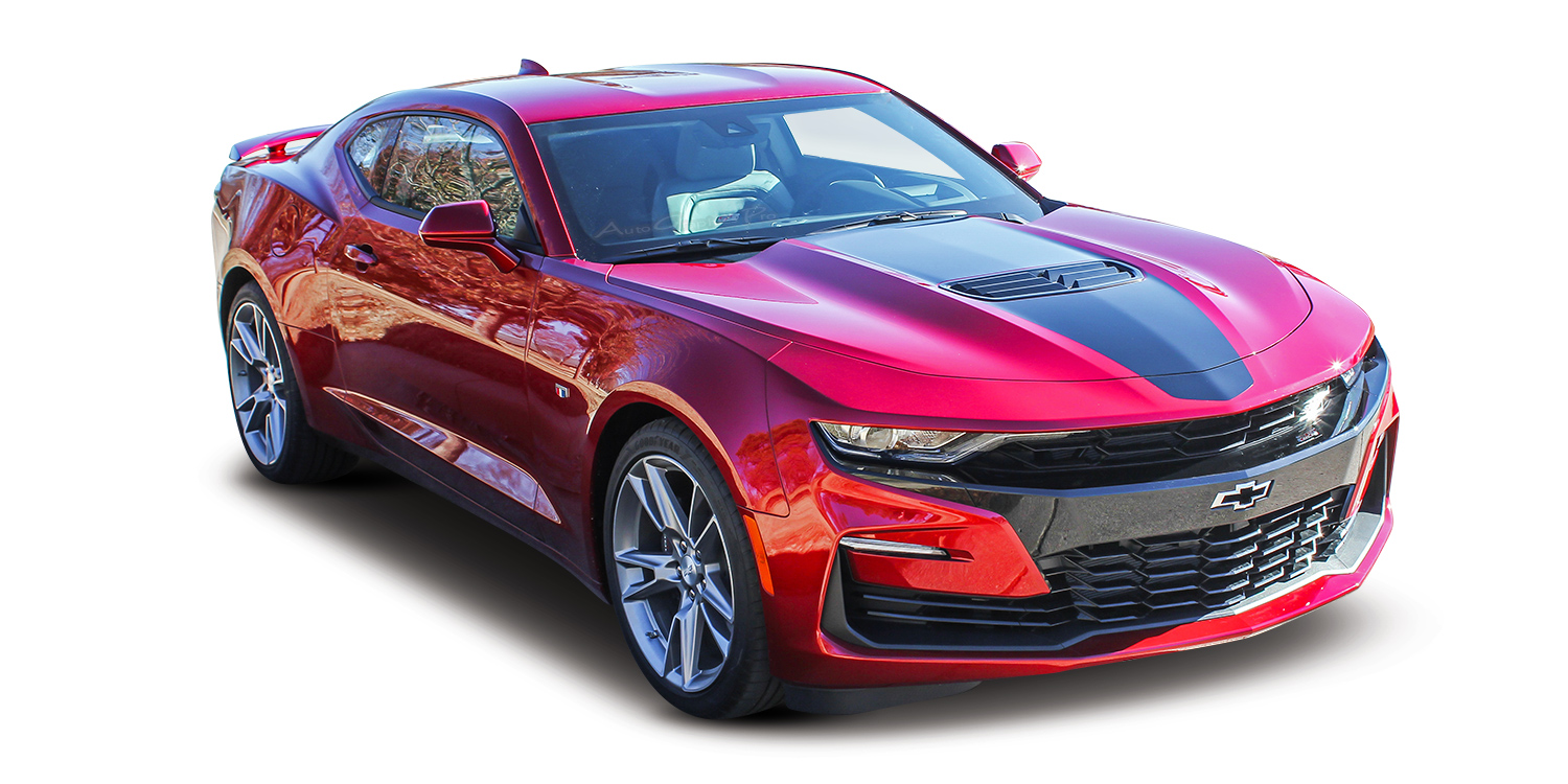 2019 Chevy Camaro Center Hood Stripes Overdrive Wide Roof