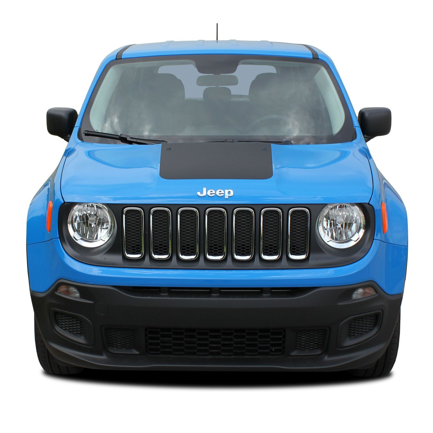 Jeep Renegade Trailhawk For Sale >> 2014-2020 Jeep Renegade HOOD Decal Trailhawk Style Vinyl ...