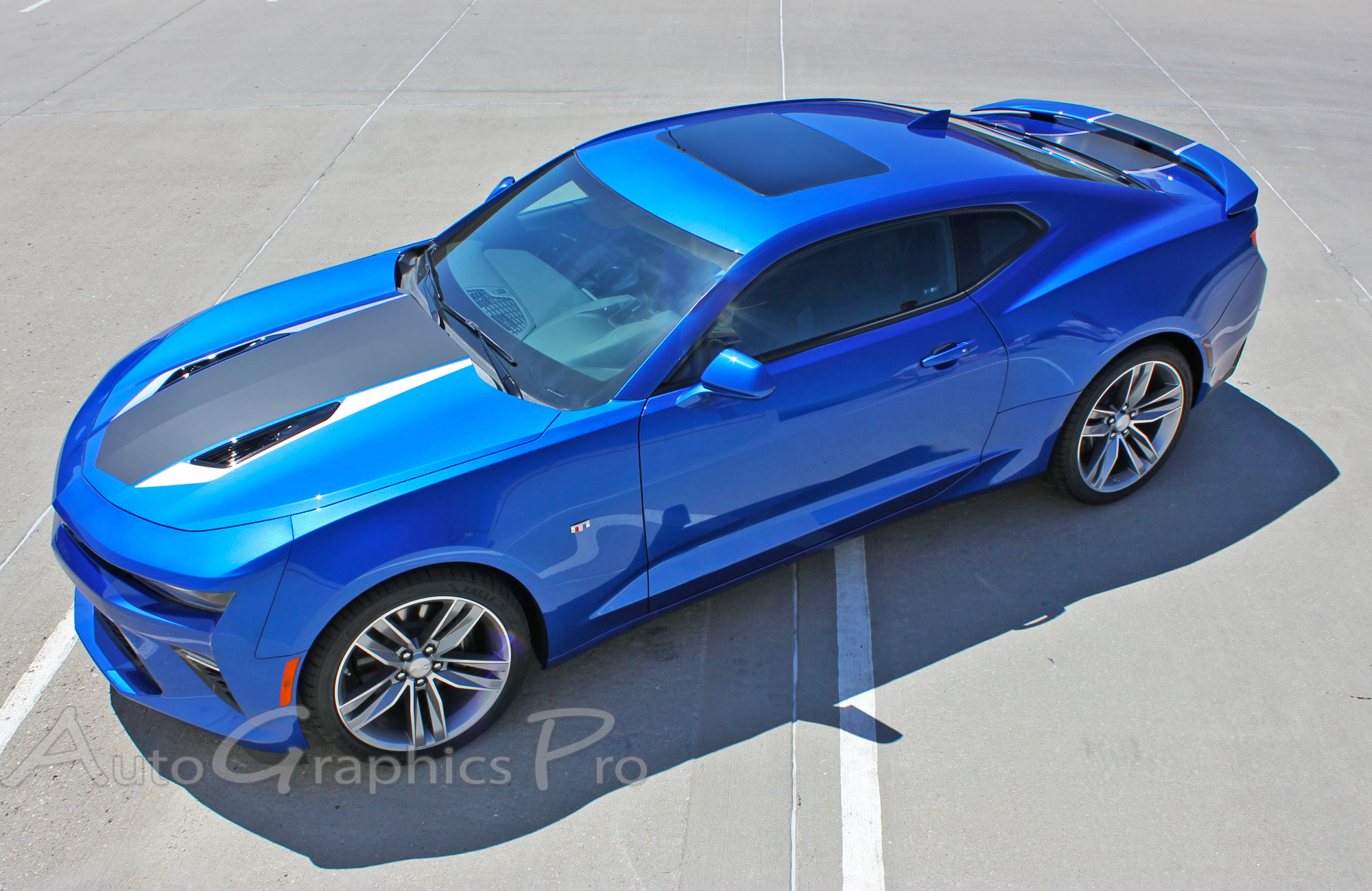 2017 Camaro 50th Anniversary >> 2016 2017 2018 Chevy Camaro Graphics Heritage 50th Anniversary Hood Decals Accent Trunk Spoiler Indy 500 Racing Stripes Kit Fits Ss Rs V6 All