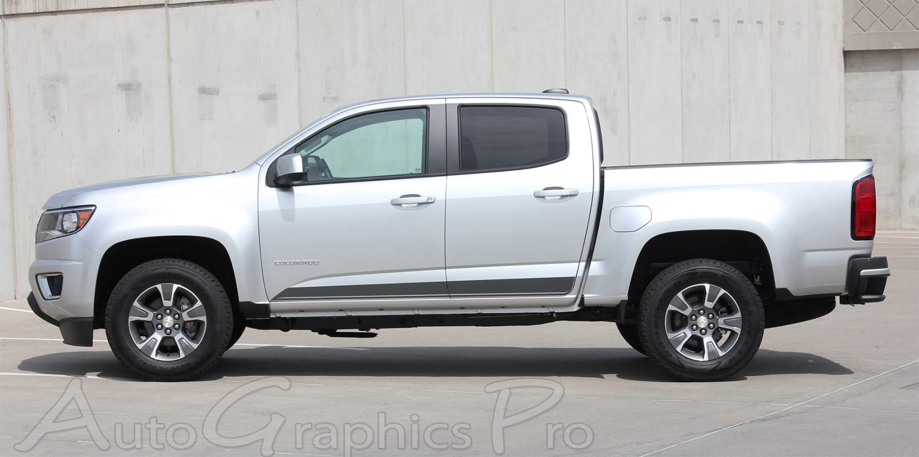 2015 2016 2017 2018 GMC Canyon Stripes RAMPART Vinyl Graphics Lower Rocker Panel Decals Accent ...