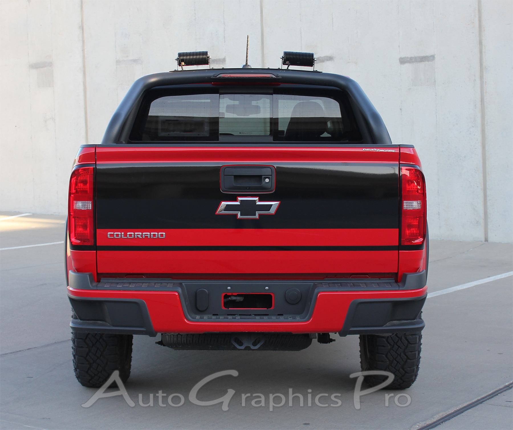 2015 2016 2017 2018 2019 Chevy Colorado Rear Tailgate