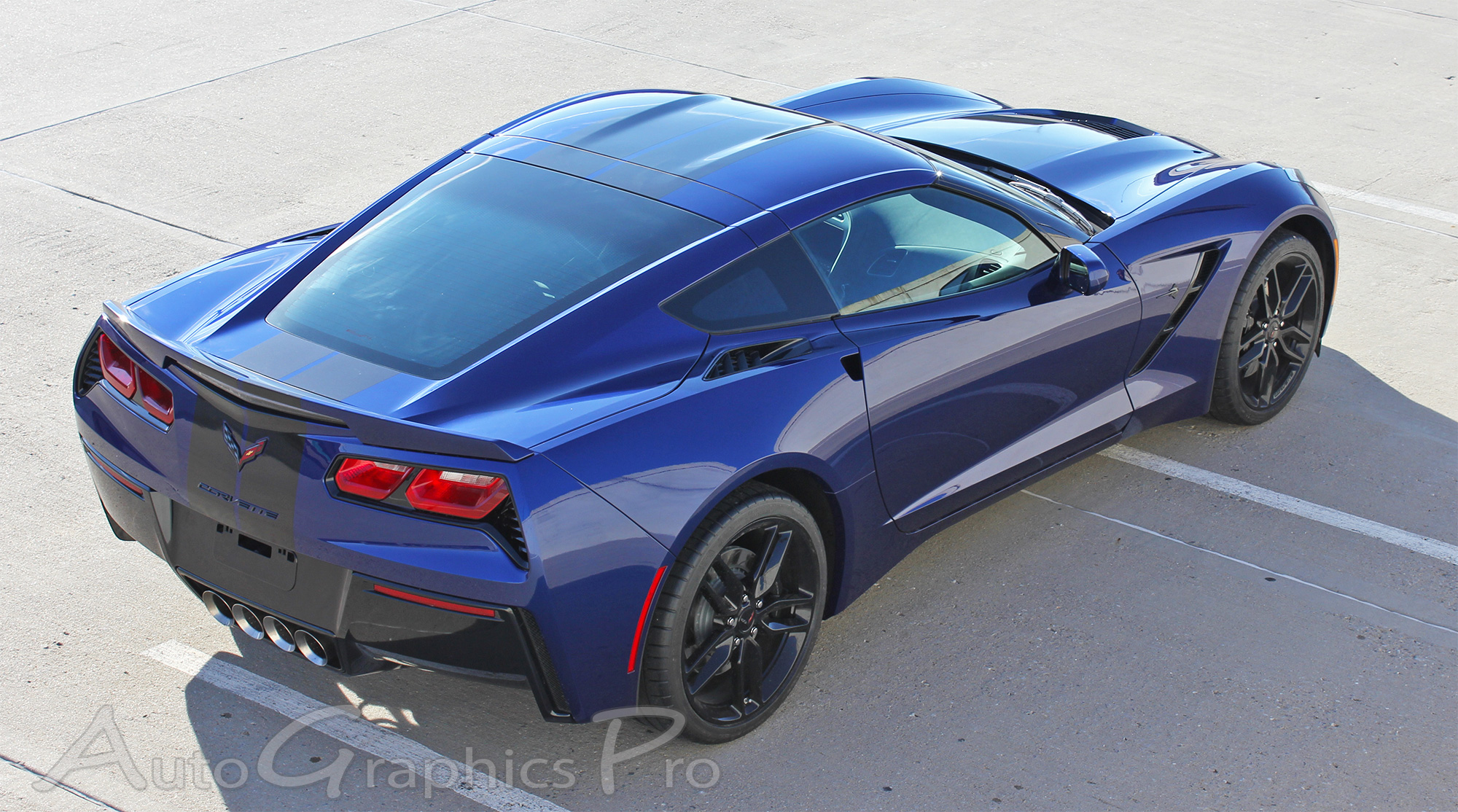 2014 2019 Chevy Corvette C7 Racing Stripes Rally Stripe
