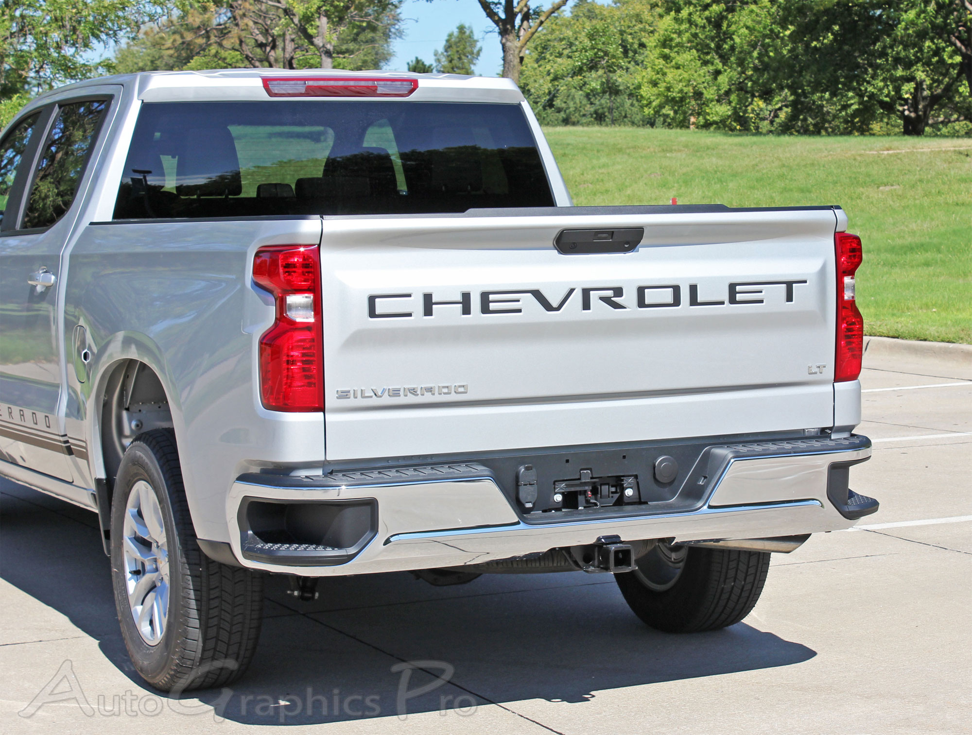 2019 Chevy Silverado Tailgate Letters Name Insert Decals 3M Vinyl Graphics  Kit