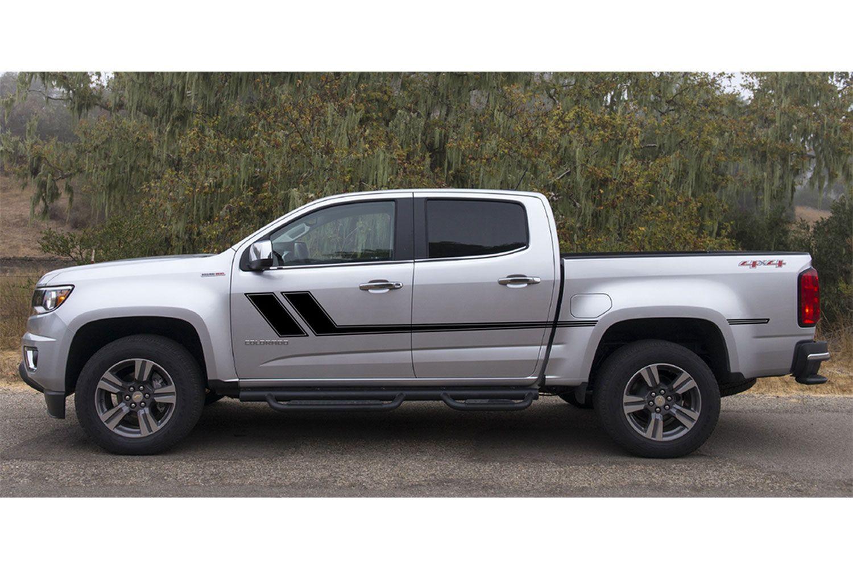 Track Xl Chevy Colorado Mid Body Line Door Rally Accent