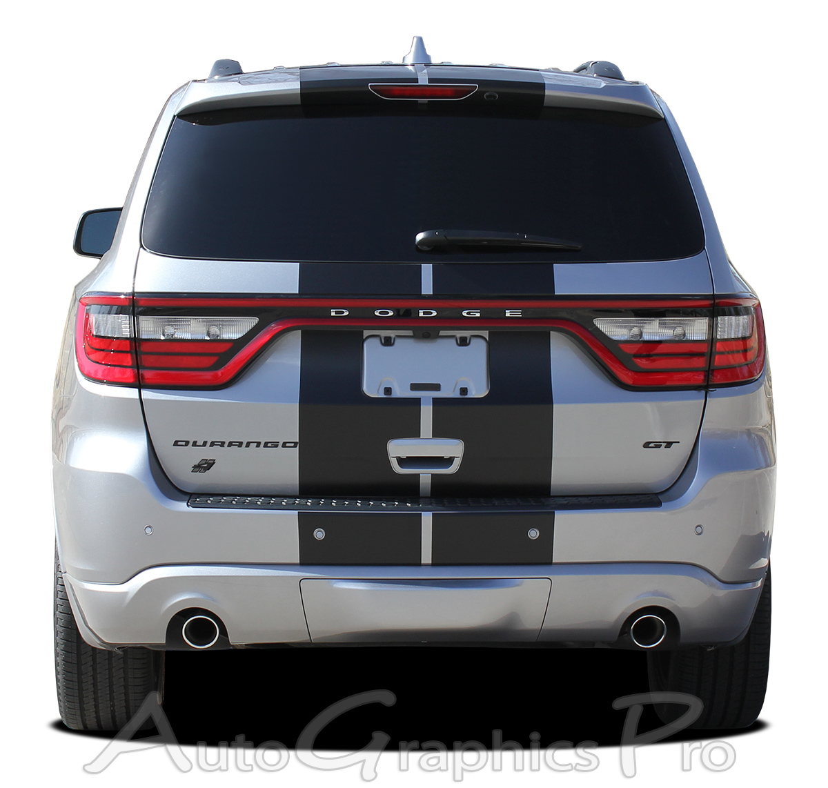 2014 2018 Dodge Durango Racing Stripes Quot Rally Quot Full Bumper