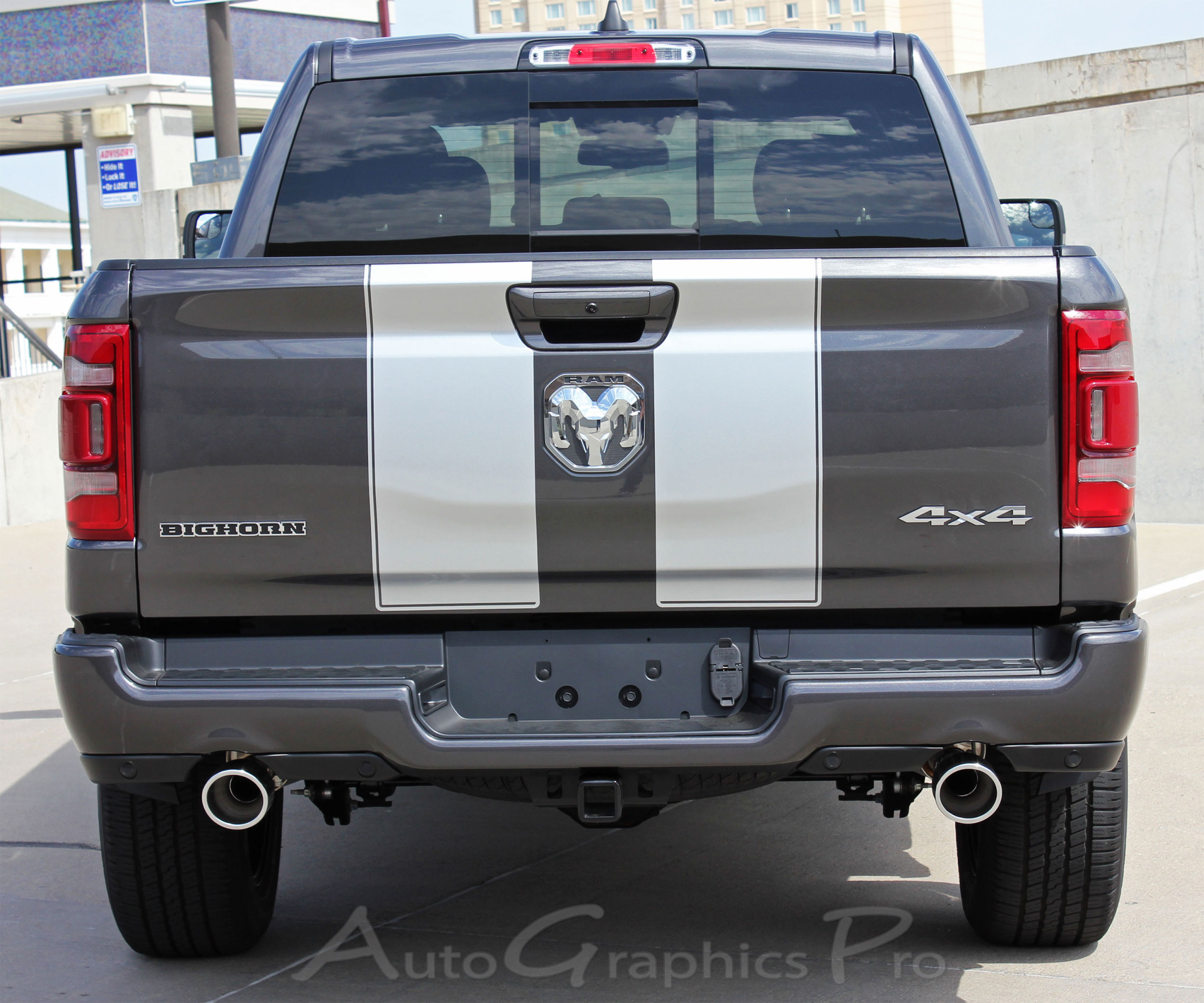2019 2020 Dodge Ram Racing Stripes RALLY Hood Decals Tailgate Truck Vinyl  Graphic Kit