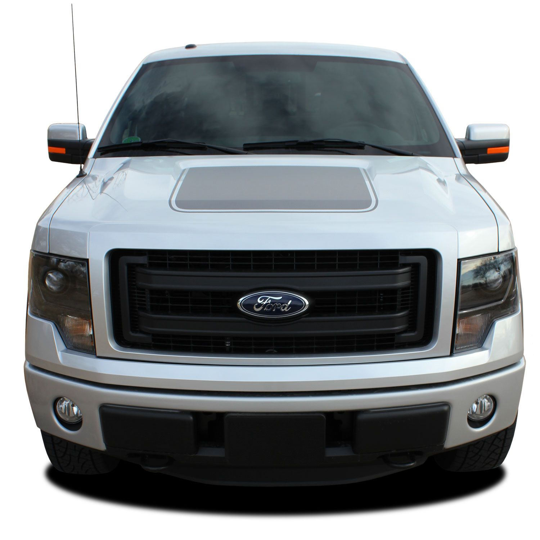 2009;2010;2011;2012;2013;2014 Ford F-150 Hood Blackout MATTE BLACK