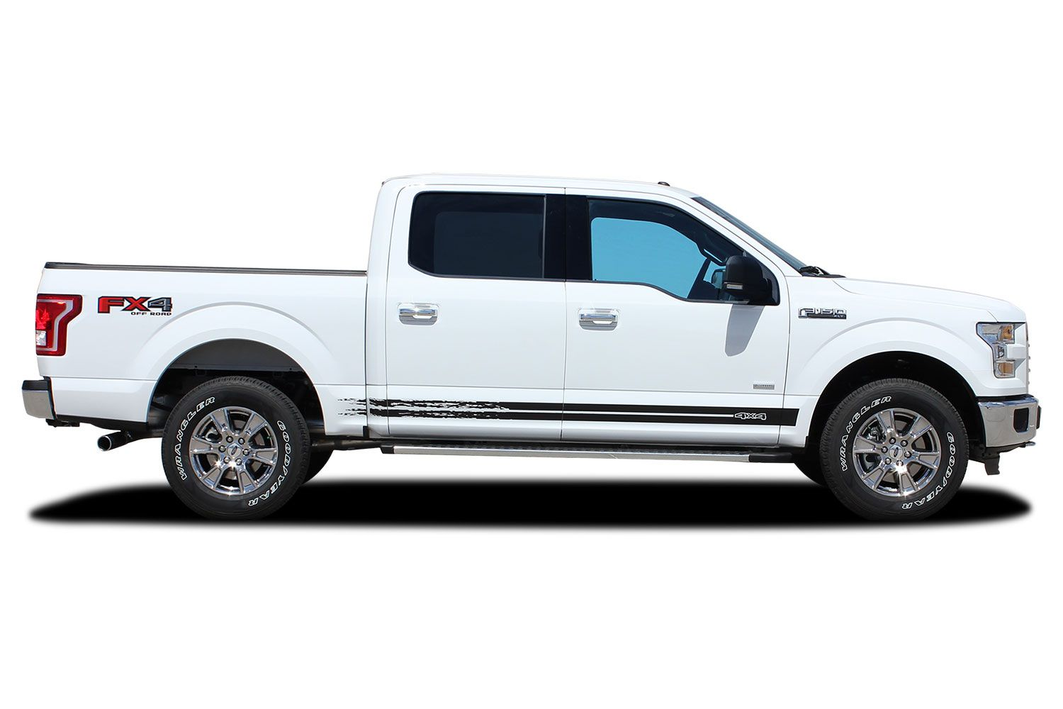 2015 2019 ford f 150 stripes breakup rocker decals lower rocker panel vinyl graphics kits