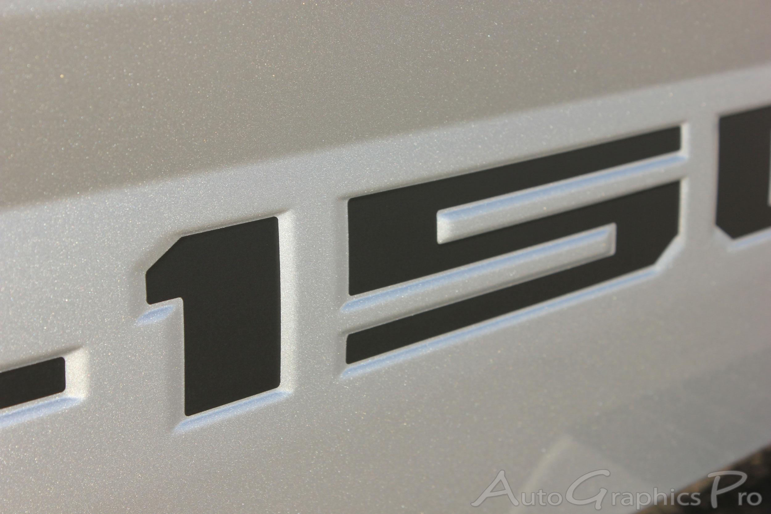 2018 2019 Ford F 150 Tailgate Decals Speedway Text Inlays Vinyl