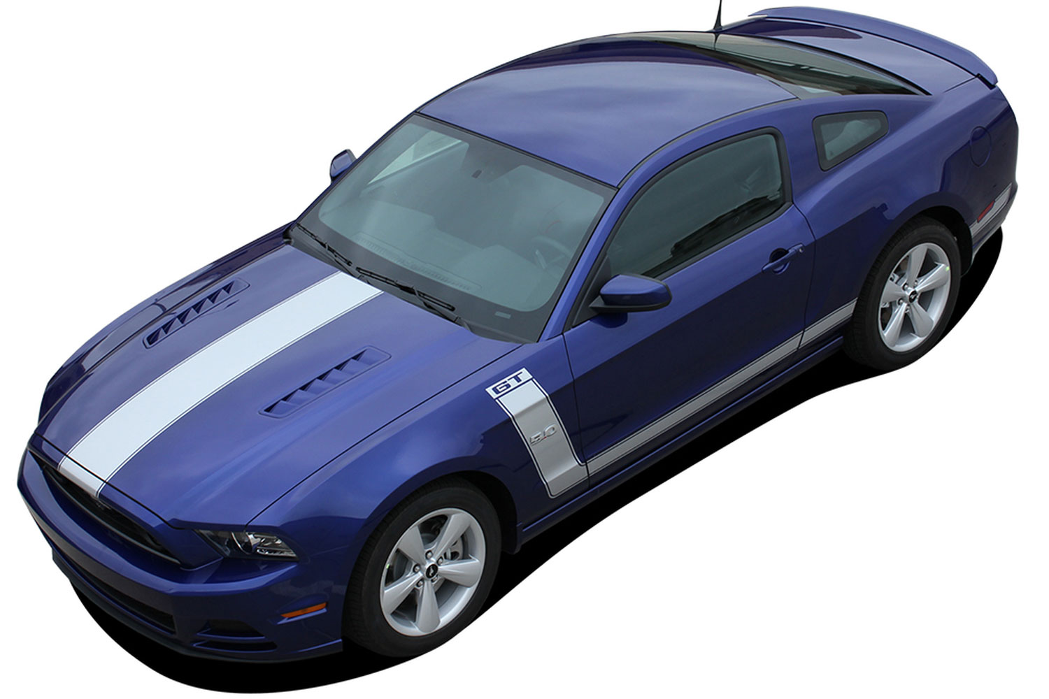 Ford Mustang Boss Stripes Door Decals Prime Agp A on 2000 Dodge Dakota Decal
