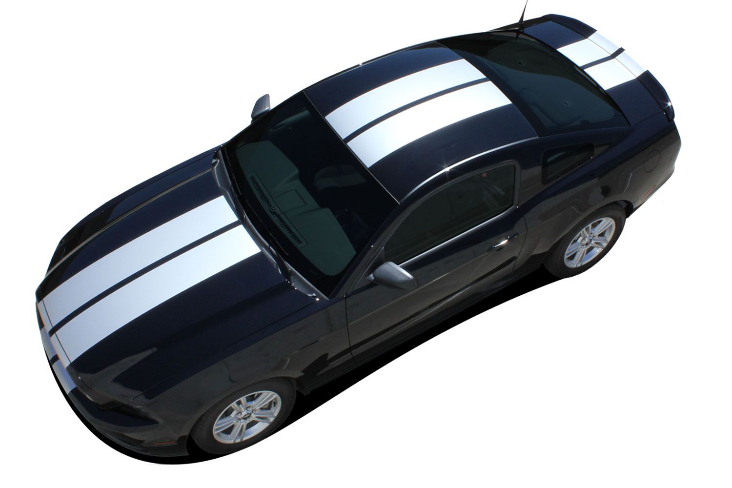 2013 2014 ford mustang thunder racing and rally stripes vinyl decal graphics