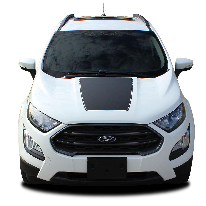 2013-2019 Ford EcoSport AMP Hood Decal Vinyl Stripe