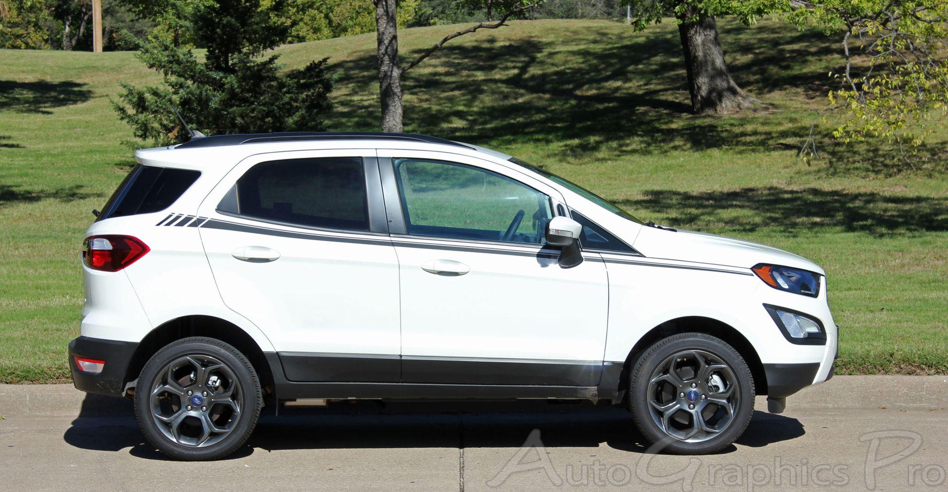 2013 2020 Ford Ecosport Amp Side Door Decal Vinyl Stripe