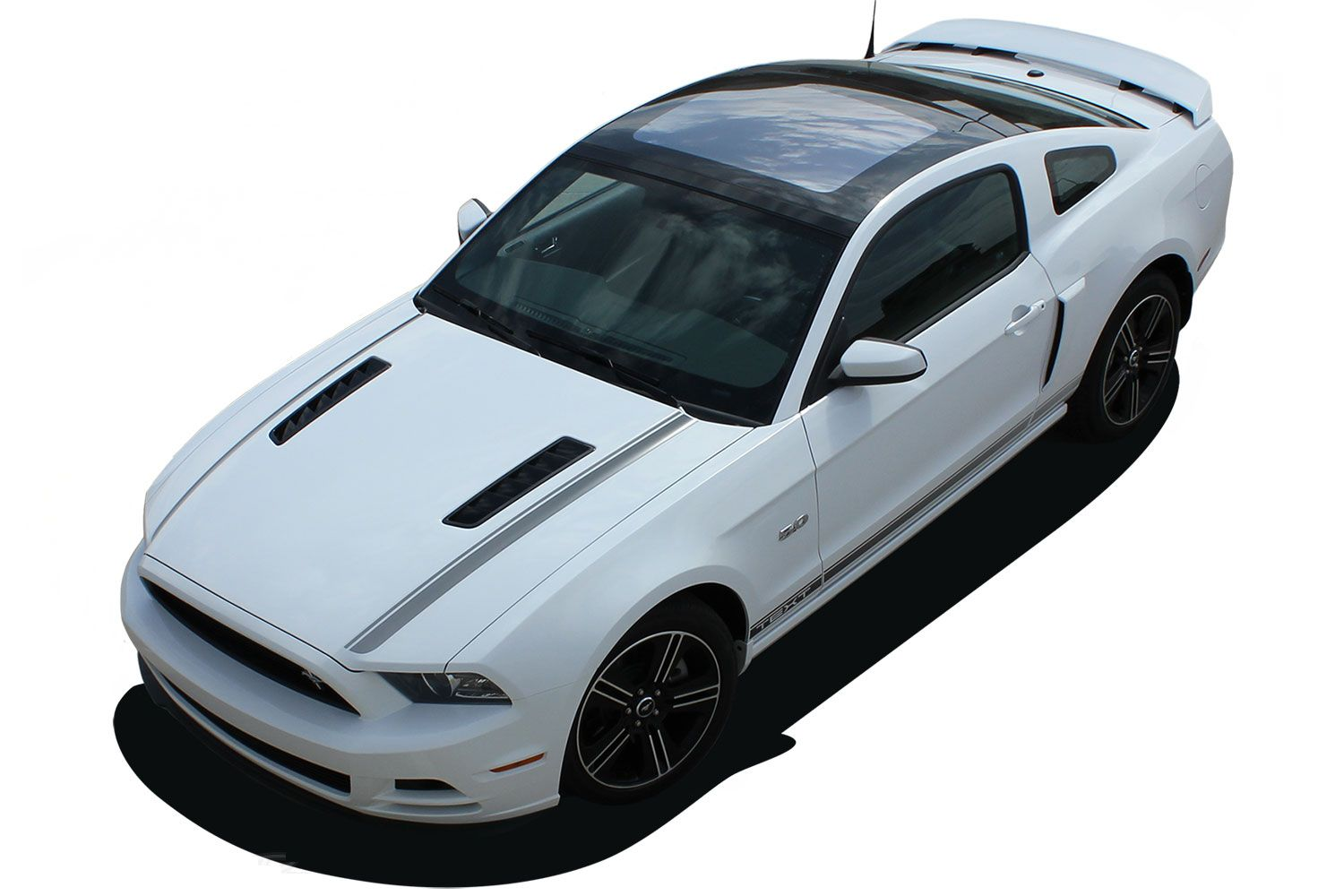 2010 2011 2012 2013 2014 Shelby GT500 SUPER SNAKE MUSTANG ROCKER STRIPES DECALS