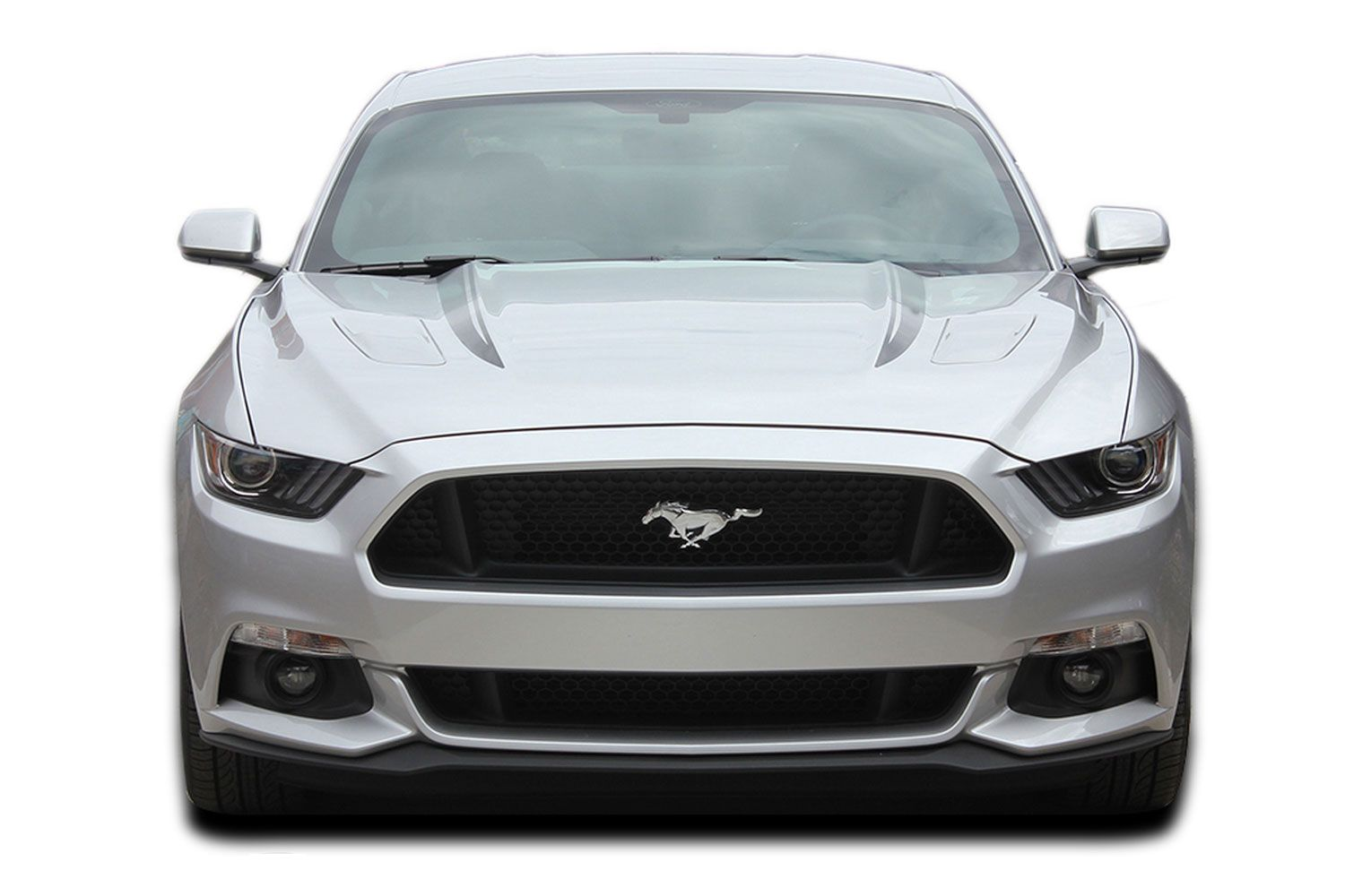 Choose Color Ford Mustang 2010-2012 Pre-cut Factory Style Over-The-Top Stripes