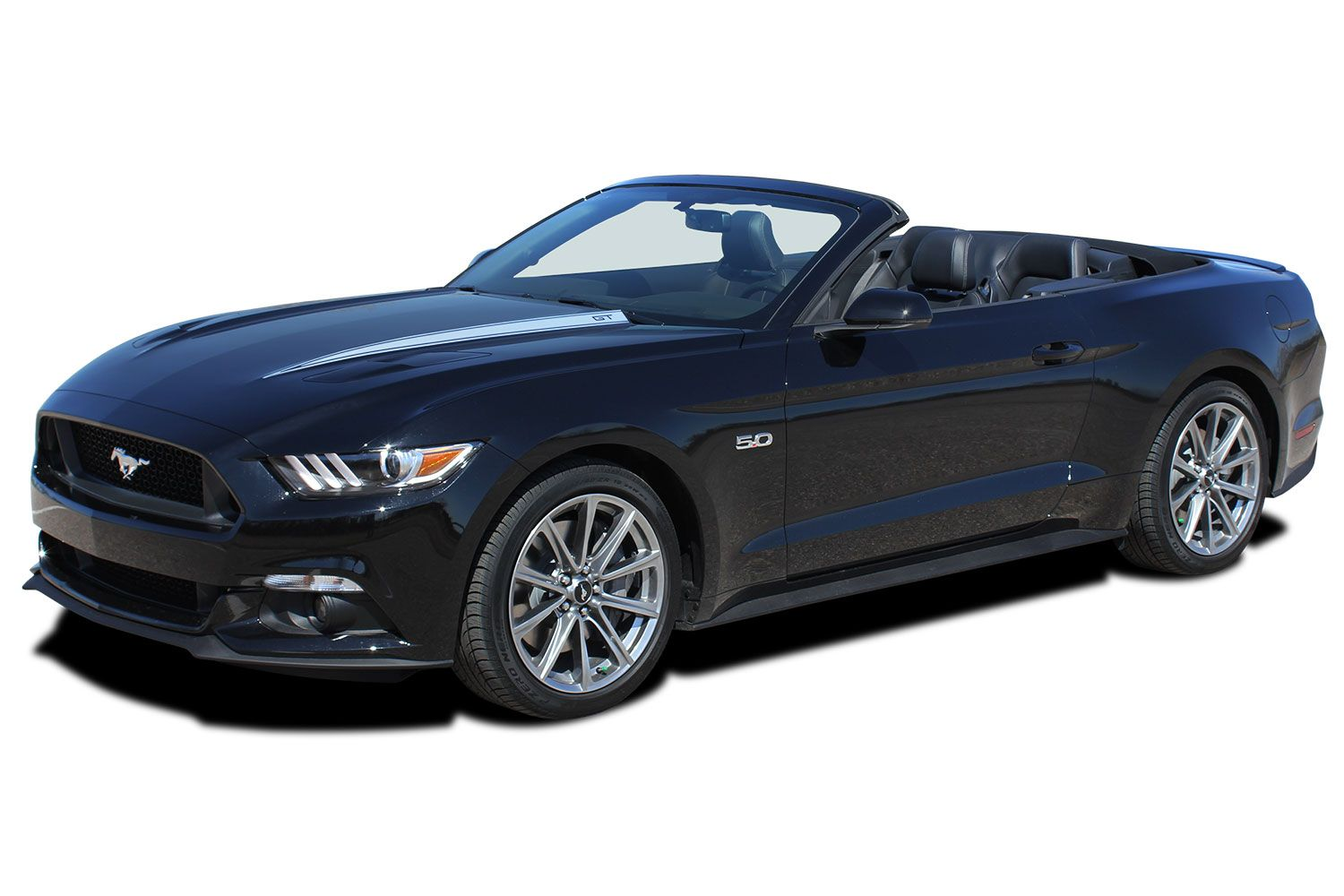 Ford Mustang Vinyl Graphics Decal Stripes Lance Hood Spears Agp A on 2000 Dodge Dakota Decal