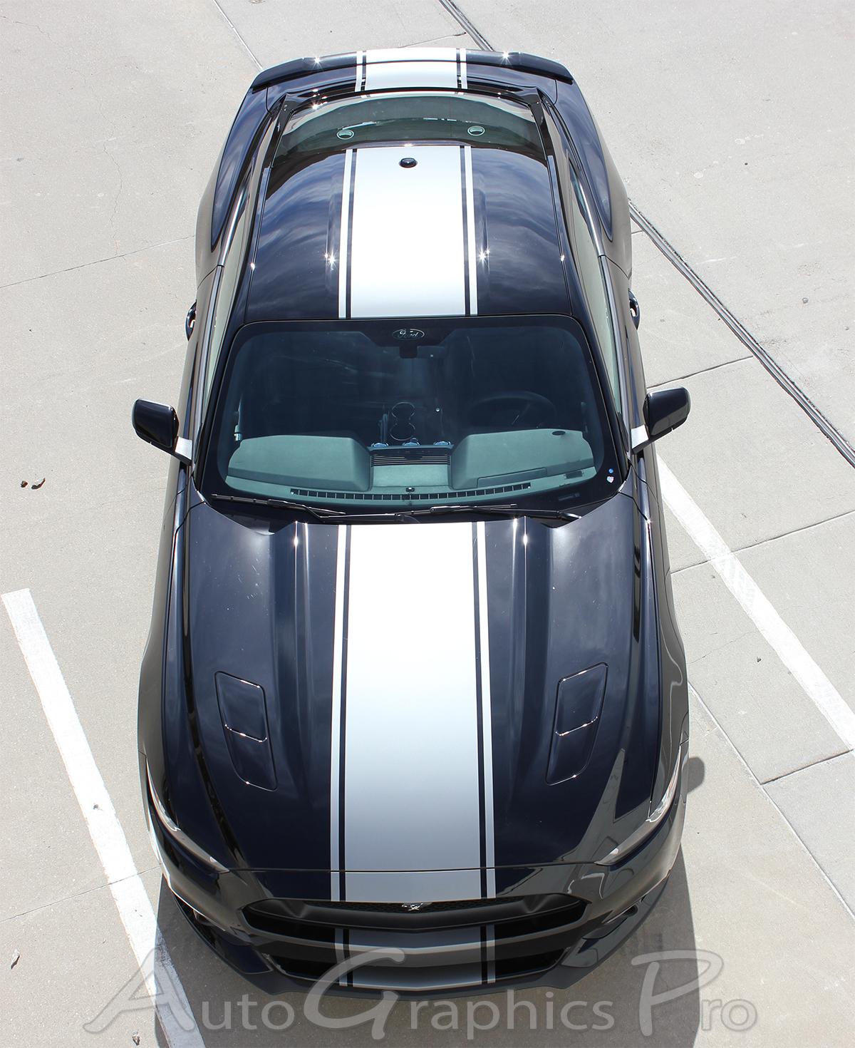 2015 2016 2017 Ford Mustang Super Snake Stripes CONTENDER