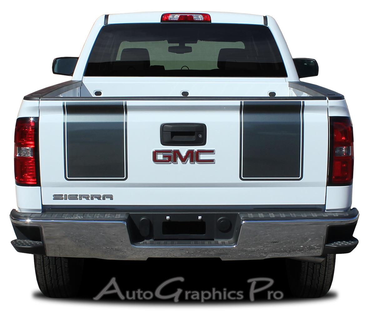 2014 2017 2018 Gmc Sierra Racing Stripes Rally Truck Hood