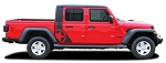 Jeep Gladiator Decals, 2020-2021