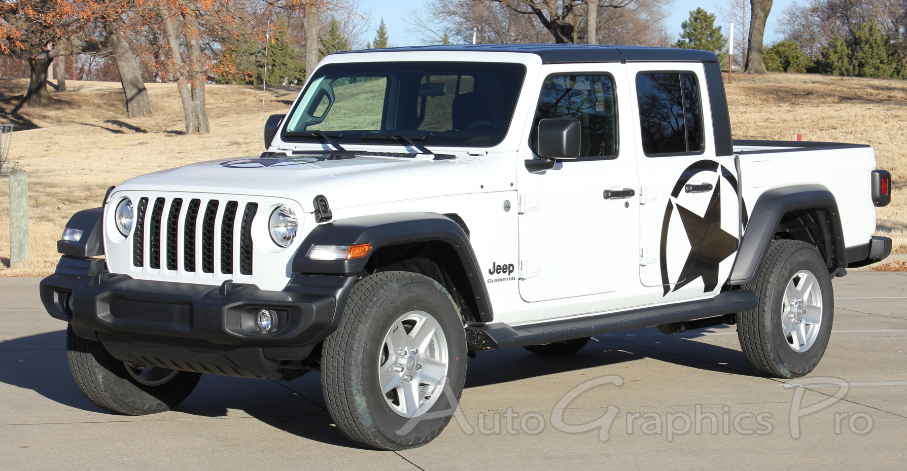 2020 jeep gladiator side star decal alpha sides body vinyl