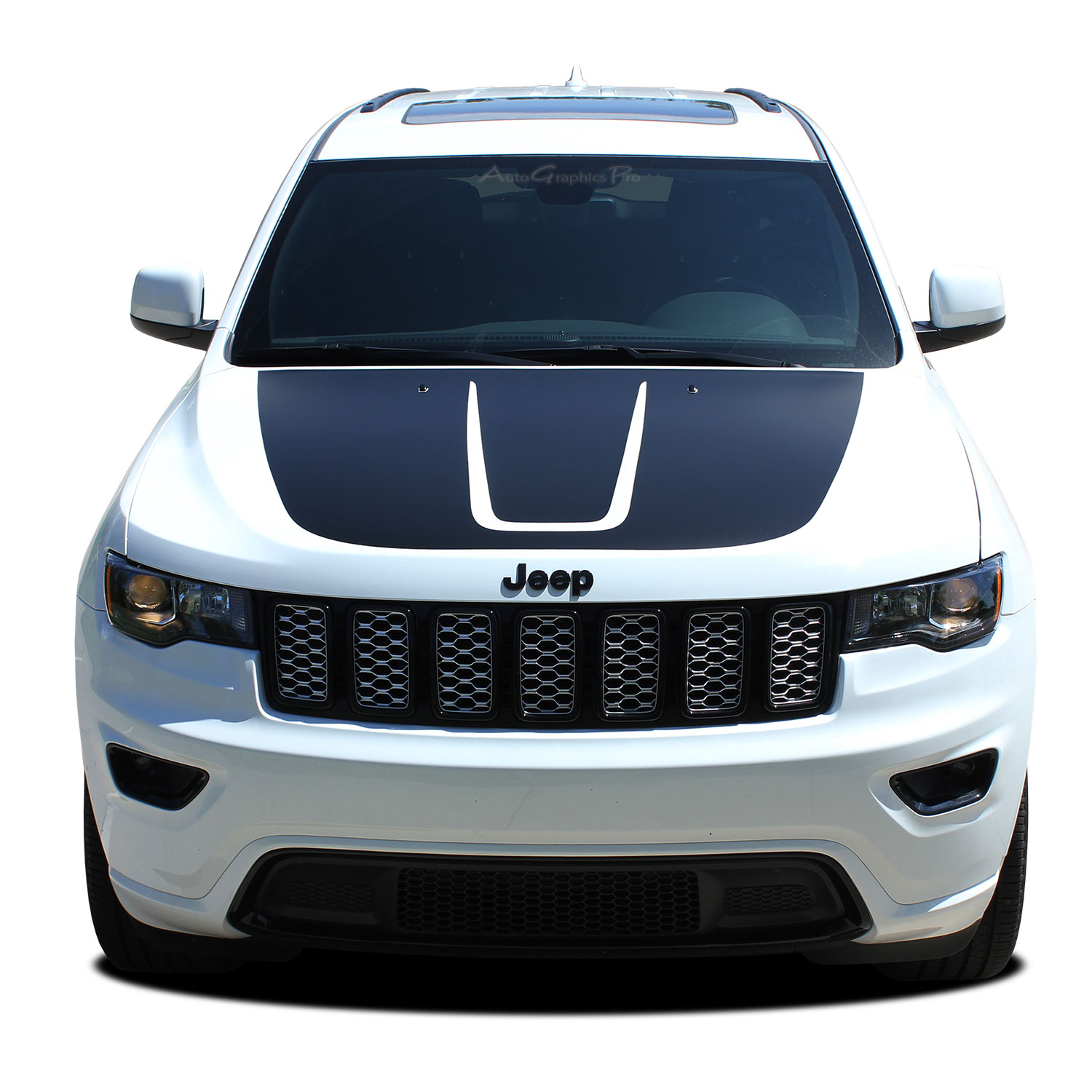 2011-2019 Jeep Grand Cherokee Trailhawk Hood Decal TRAIL