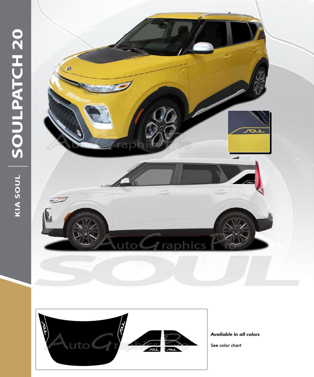 2020 kia soul hood decals soul patch 20 with rear accent vinyl graphic stripes kit 2020 kia soul hood decals soul patch 20 with rear accent vinyl graphic stripes kit