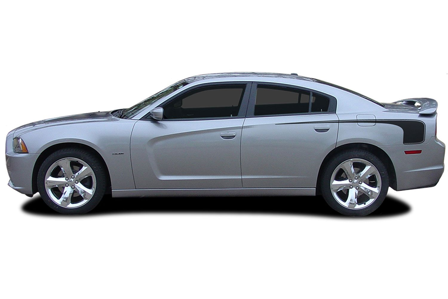 2011 2014 Dodge Charger Decals Recharge Hockey 2 Quarter