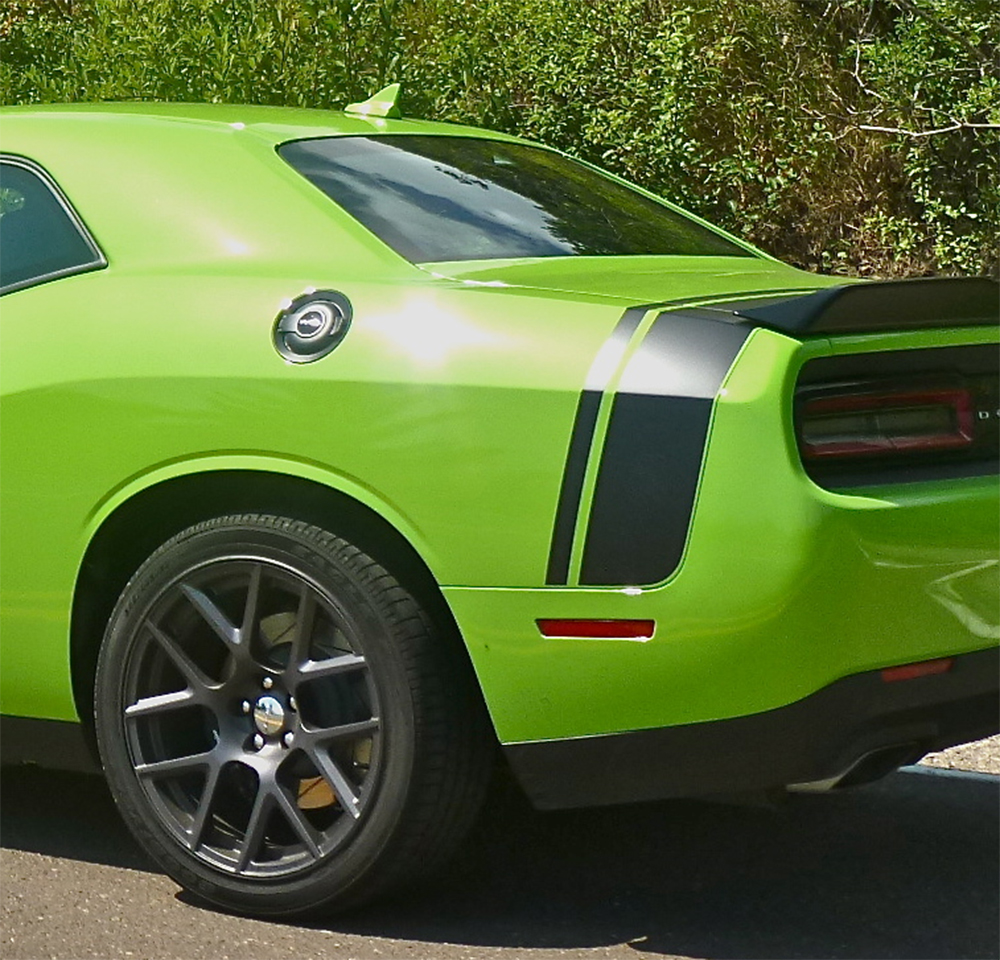 2011-2019 Dodge Challenger Trunk Stripes TAILBAND Decals