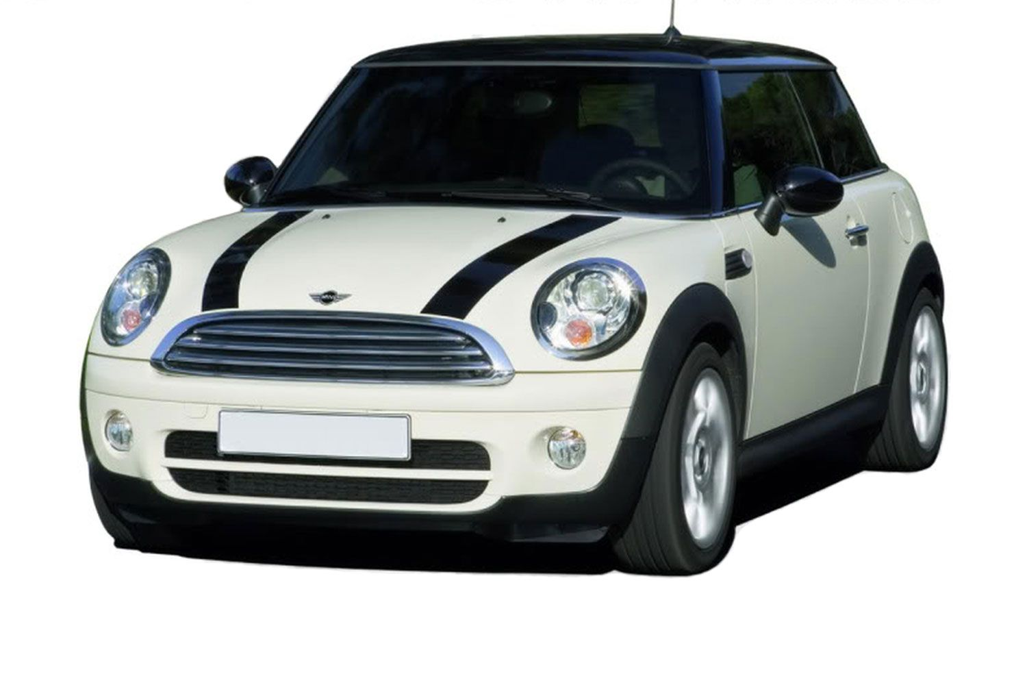 "2006-2018 Mini Cooper ""S-TYPE"" Hood Racing Stripes Vinyl Graphic Decals"