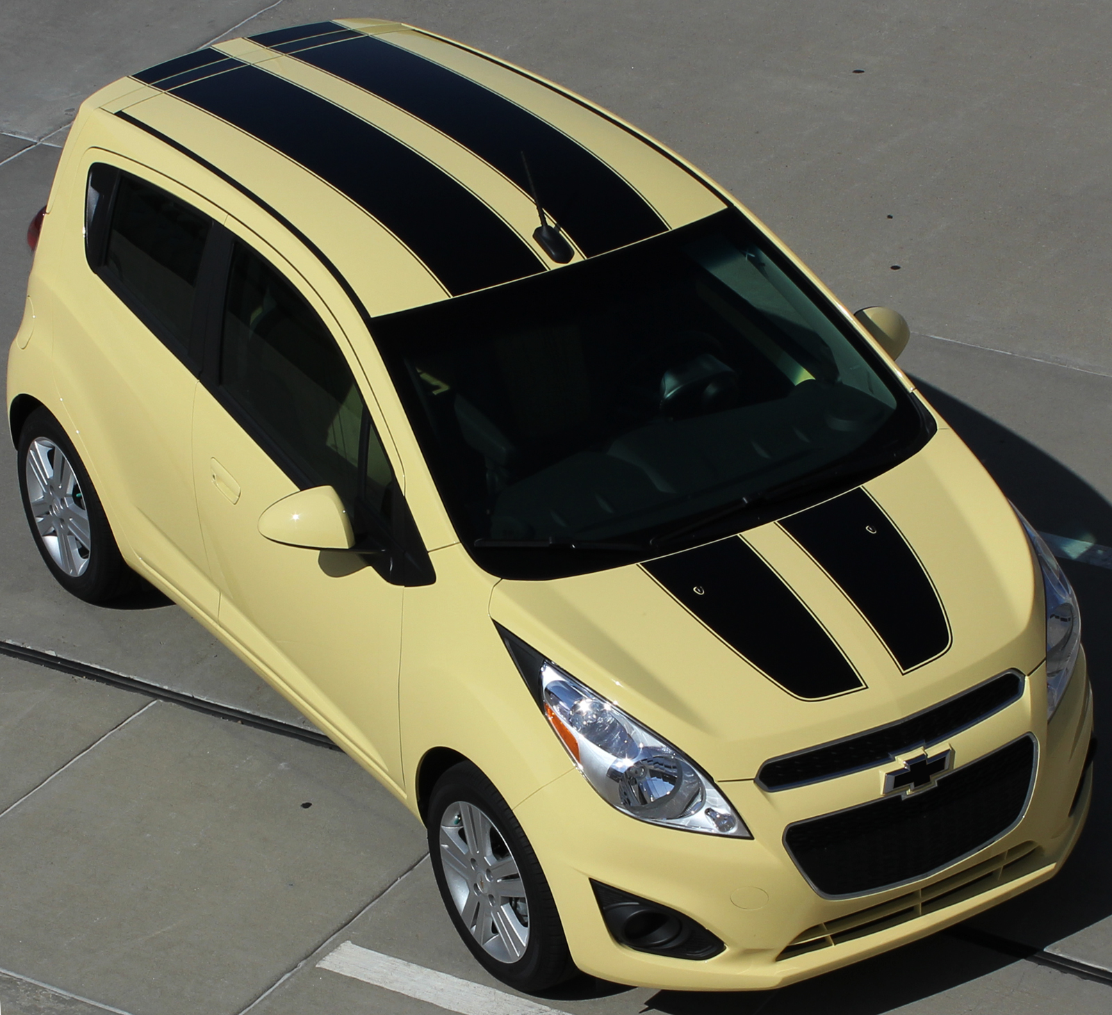 2013-2016 Chevy Spark Racing Stripes SPARK RALLY Hood