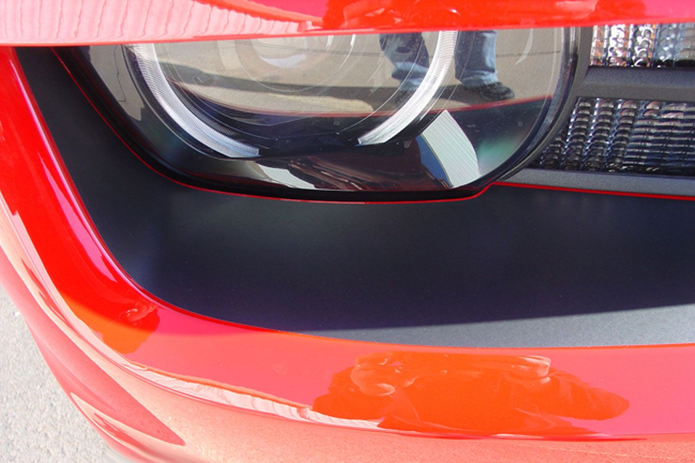 2010 2011 2012 2013 Chevy Camaro Front Bumper Blackout Fascia Decal