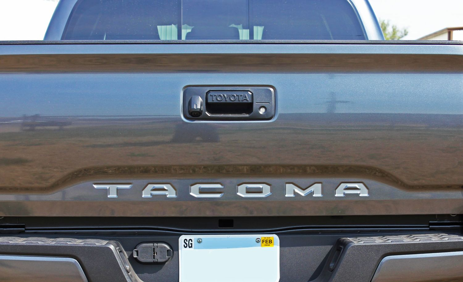2015 2018 toyota tacoma tailgate letters rear bed. Black Bedroom Furniture Sets. Home Design Ideas