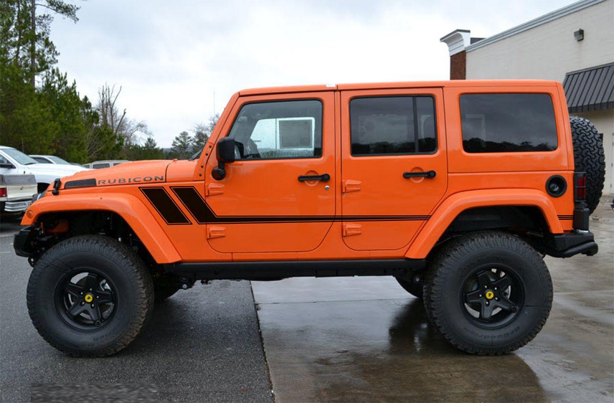 Quot Track Xl Quot Jeep Wrangler Mid Body Line Door Rally Accent