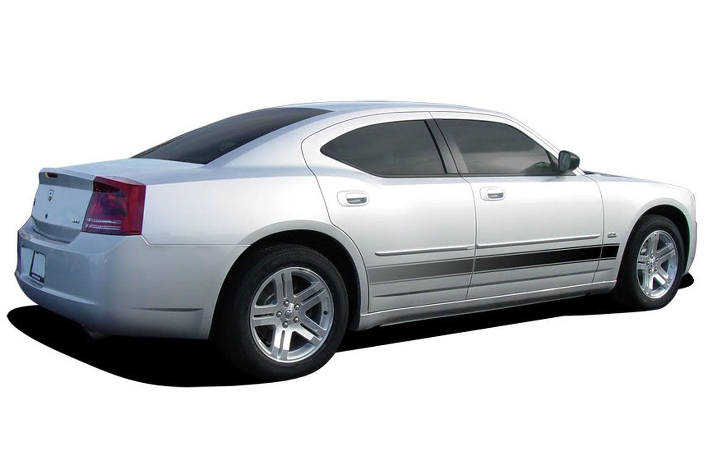 2006 2014 Dodge Charger Rocker Stripes Vanguard Lower Door