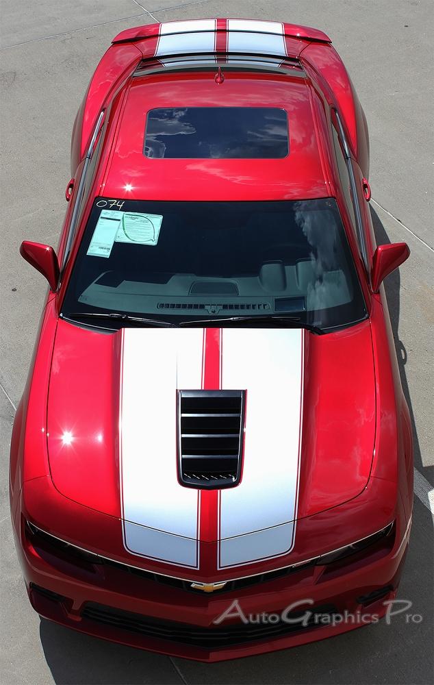2014 2015 Chevy Camaro Racing Stripes S Sport Oem Factory