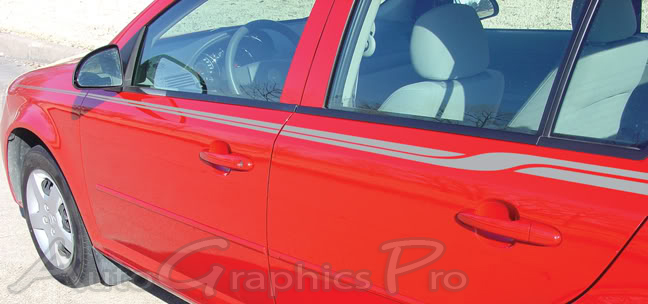 Chevy Cobalt Stripes Crossroads Upper Body Wide Pin