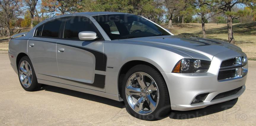 "2010 Chevy Camaro Price >> 2011-2014 Dodge Charger ""C-STRIPE"" Mopar Style Vinyl Racing Stripes Kit"