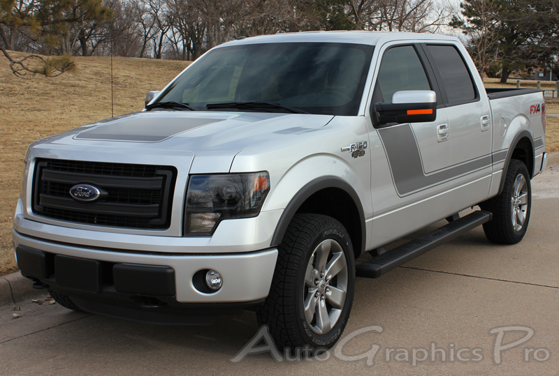 2009 2014 Ford F 150 Quot Force Hood Quot Factory Style Vinyl